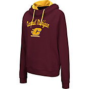 Colosseum Women's Central Michigan Chippewas Maroon Louise Pullover Sweatshirt
