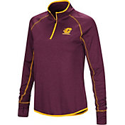 Colosseum Women's Central Michigan Chippewas Maroon Stingray Quarter-Zip Shirt