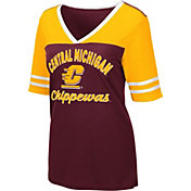 Colosseum Women's Central Michigan Chippewas Maroon Samantha T-Shirt