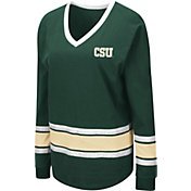 Colosseum Women's Colorado State Rams Green Alrighty Long Sleeve T-Shirt