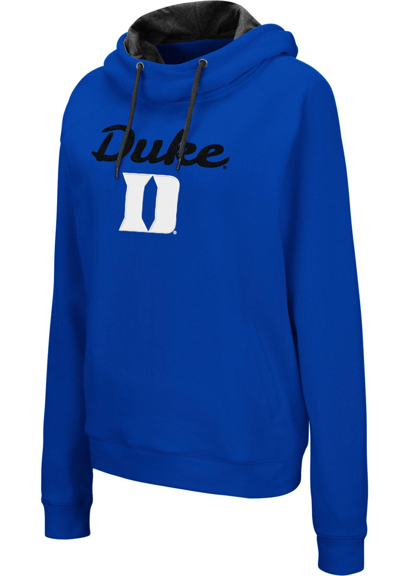 Colosseum Women's Duke Blue Devils Duke Blue Louise Pullover Sweatshirt