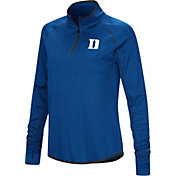 Colosseum Women's Duke Blue Devils Duke Blue Stingray Quarter-Zip Shirt