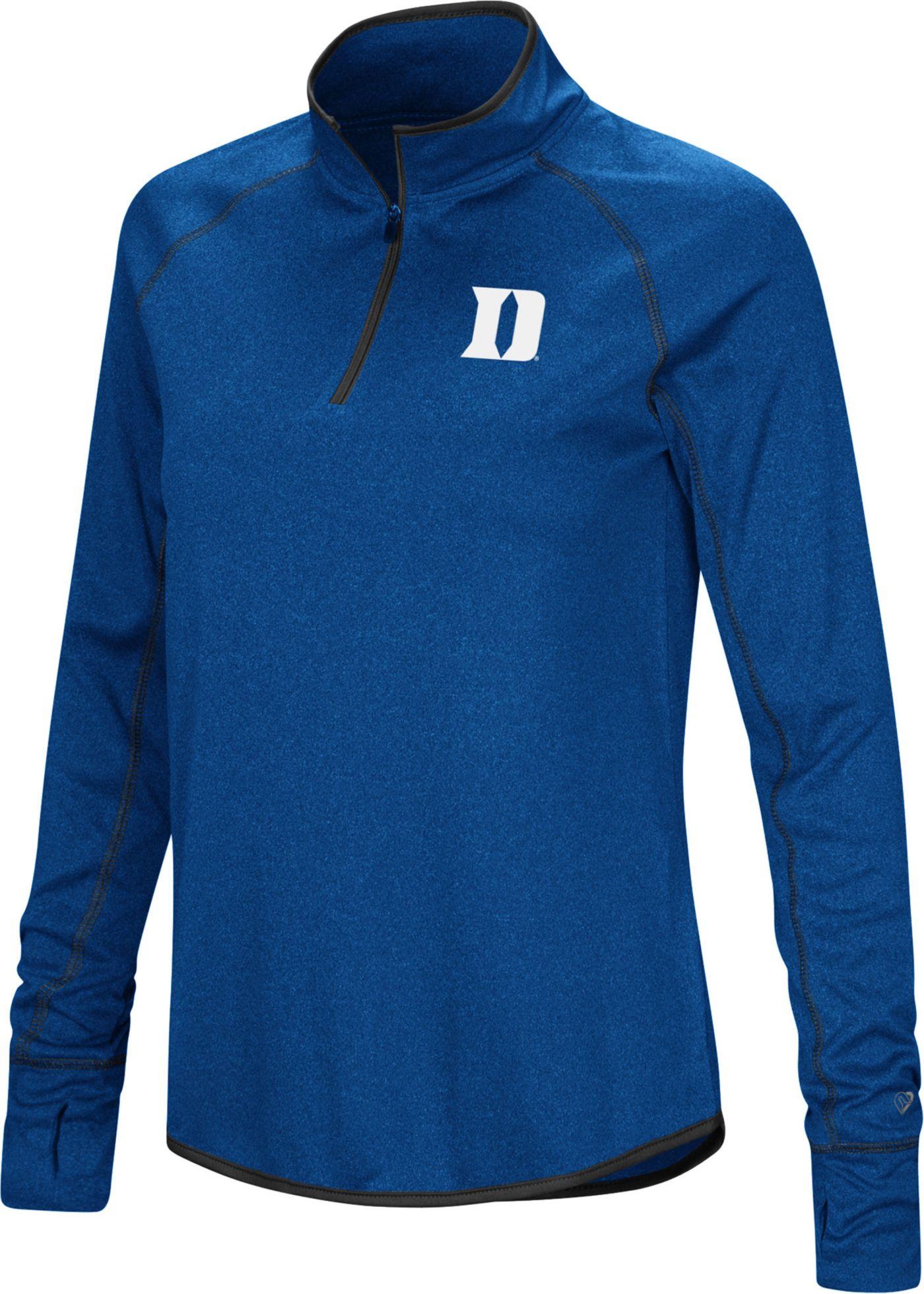 Colosseum Women's Duke Blue Devils Duke Blue Stingray Quarter-Zip Shirt