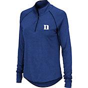 Colosseum Women's Duke Blue Devils Duke Blue Quarter-Zip Shirt