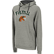 Colosseum Women's Florida A&M Rattlers Grey Funnel-Neck Pullover Sweatshirt
