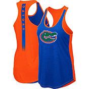 Colosseum Women's Florida Gators Blue/Orange Publicist Tank Top