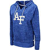 Colosseum Women's Air Force Falcons Blue Bradshaw Pullover Hoodie