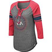 Colosseum Women's Fresno State Bulldogs Grey Carrie Long Sleeve T-Shirt