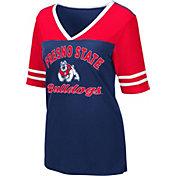 Colosseum Women's Fresno State Bulldogs Cardinal Samantha T-Shirt