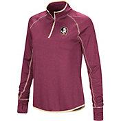 Colosseum Women's Florida State Seminoles Garnet Stingray Quarter-Zip Shirt