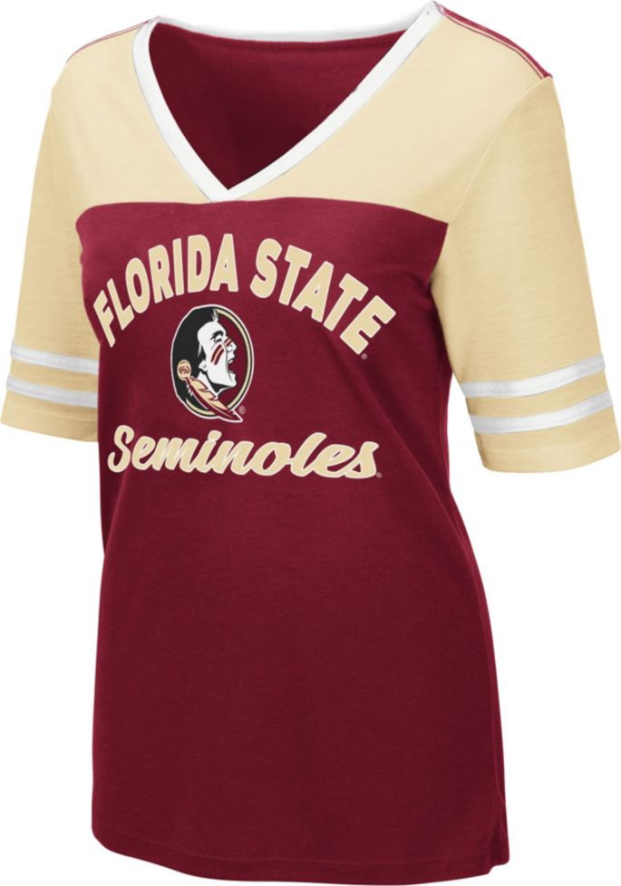brand new dbcfd 54e22 Colosseum Women's Florida State Seminoles Garnet Samantha T-Shirt