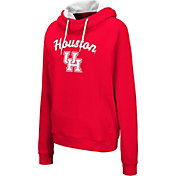 Colosseum Women's Houston Cougars Red Louise Pullover Sweatshirt