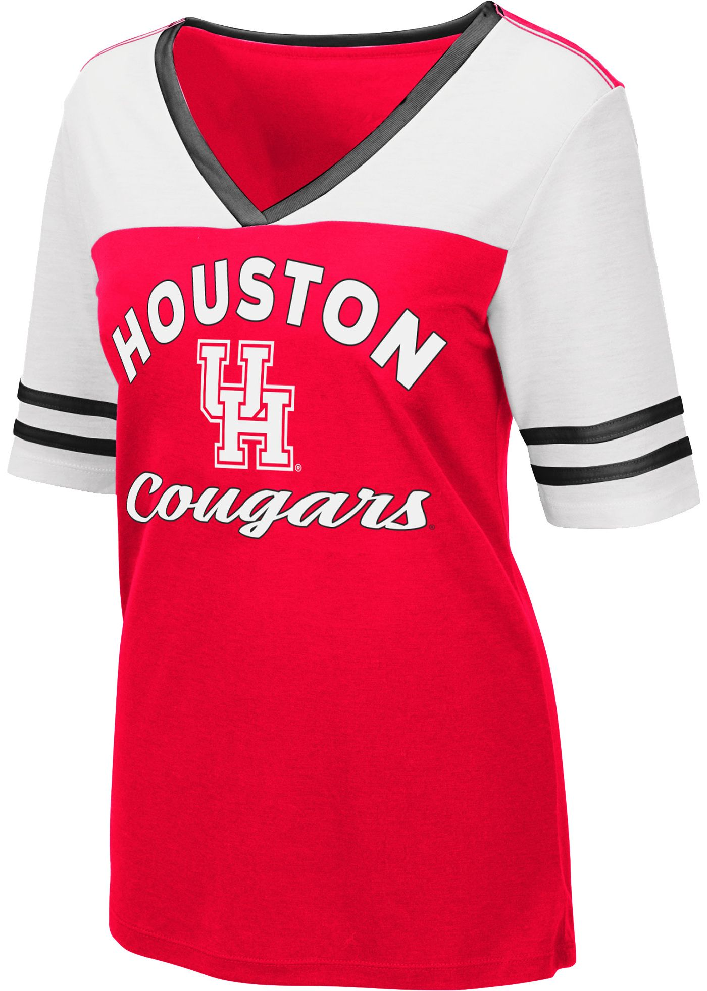 Colosseum Women's Houston Cougars Red Samantha T-Shirt