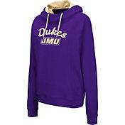 Colosseum Women's James Madison Dukes Purple Louise Pullover Sweatshirt