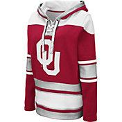 Colosseum Women's Oklahoma Sooners Crimson Choo Hockey Pullover Hoodie