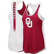 Colosseum Women's Oklahoma Sooners Crimson/Cream Publicist Tank Top