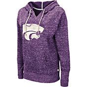 Colosseum Women's Kansas State Wildcats Purple Bradshaw Pullover Hoodie