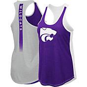 Colosseum Women's Kansas State Wildcats Purple/Silver Publicist Tank Top