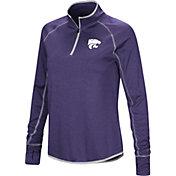 Colosseum Women's Kansas State Wildcats Purple Stingray Quarter-Zip Shirt