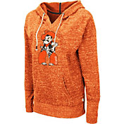 Colosseum Women's Oklahoma State Cowboys Orange Bradshaw Pullover Hoodie