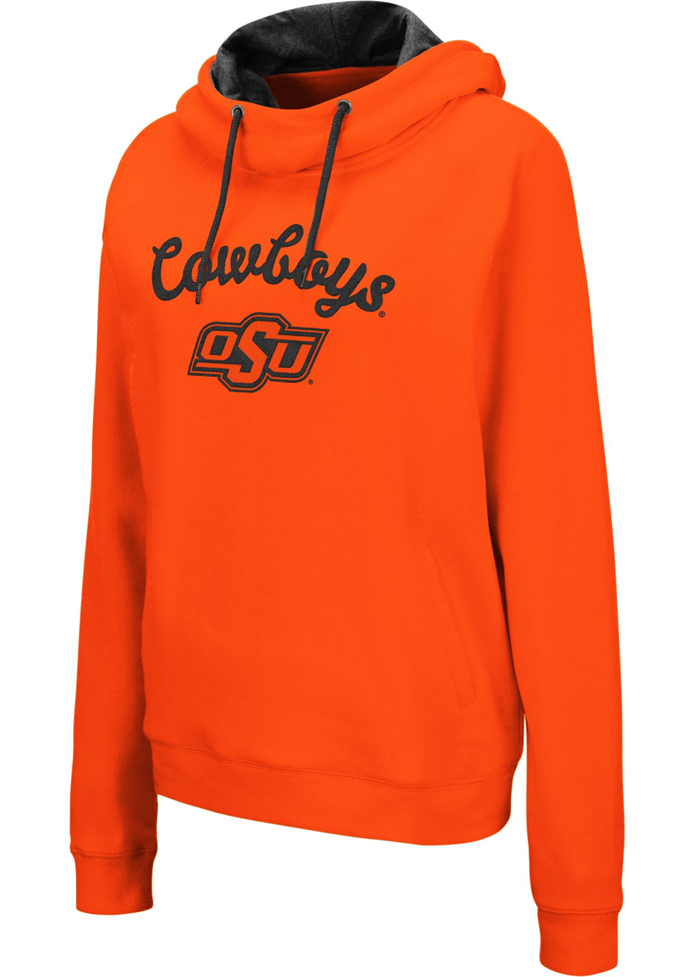 Colosseum Women's Oklahoma State Cowboys Orange Louise Pullover Sweatshirt
