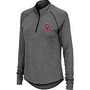 Colosseum Women's Oklahoma Sooners Grey Quarter-Zip Shirt