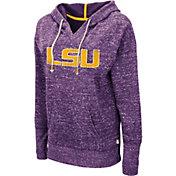 Colosseum Women's LSU Tigers Purple Bradshaw Pullover Hoodie