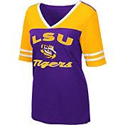 Colosseum Women's LSU Tigers Purple Samantha T-Shirt