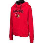Colosseum Women's Louisville Cardinals Cardinal Red Louise Pullover Sweatshirt