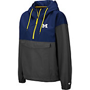 Colosseum Women's Michigan Wolverines Blue Dolce Anorak Jacket