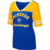 Colosseum Women's McNeese State Cowboys Royal Blue Samantha T-Shirt