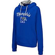 Colosseum Women's Memphis Tigers Blue Louise Pullover Sweatshirt