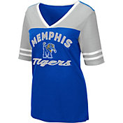 Colosseum Women's Memphis Tigers Blue Samantha T-Shirt
