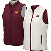 Colosseum Women's Minnesota Golden Gophers Maroon Blatch Reversible Full-Zip Vest