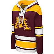 Colosseum Women's Minnesota Golden Gophers Maroon Choo Hockey Pullover Hoodie