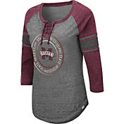 Colosseum Women's Mississippi State Bulldogs Grey Carrie Long Sleeve T-Shirt