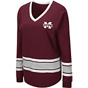 Colosseum Women's Mississippi State Bulldogs Maroon Alrighty Long Sleeve T-Shirt