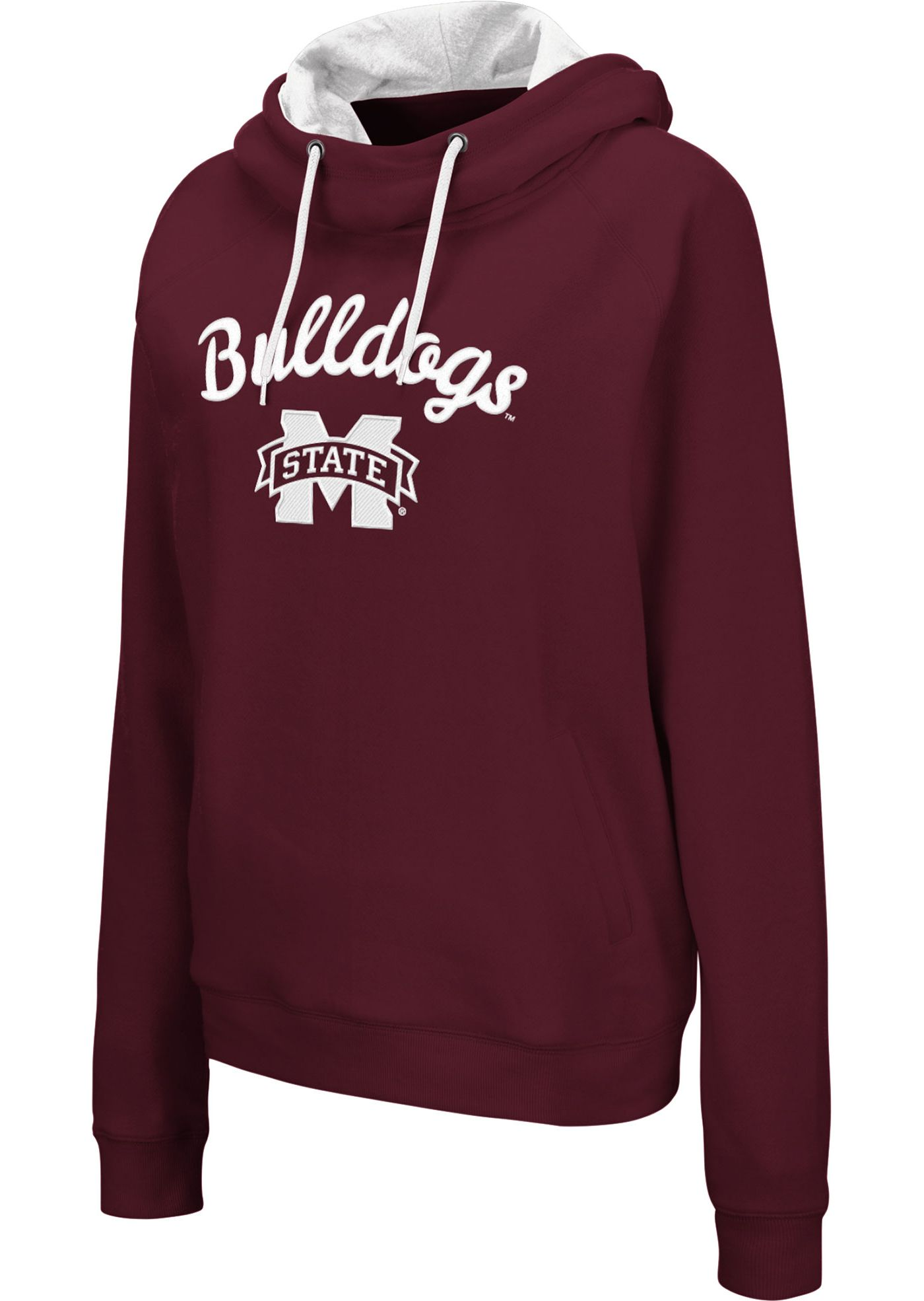 Colosseum Women's Mississippi State Bulldogs Maroon Louise Pullover Sweatshirt