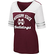 Colosseum Women's Mississippi State Bulldogs Maroon Samantha T-Shirt