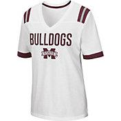 Colosseum Women's Mississippi State Bulldogs Lowland White T-Shirt