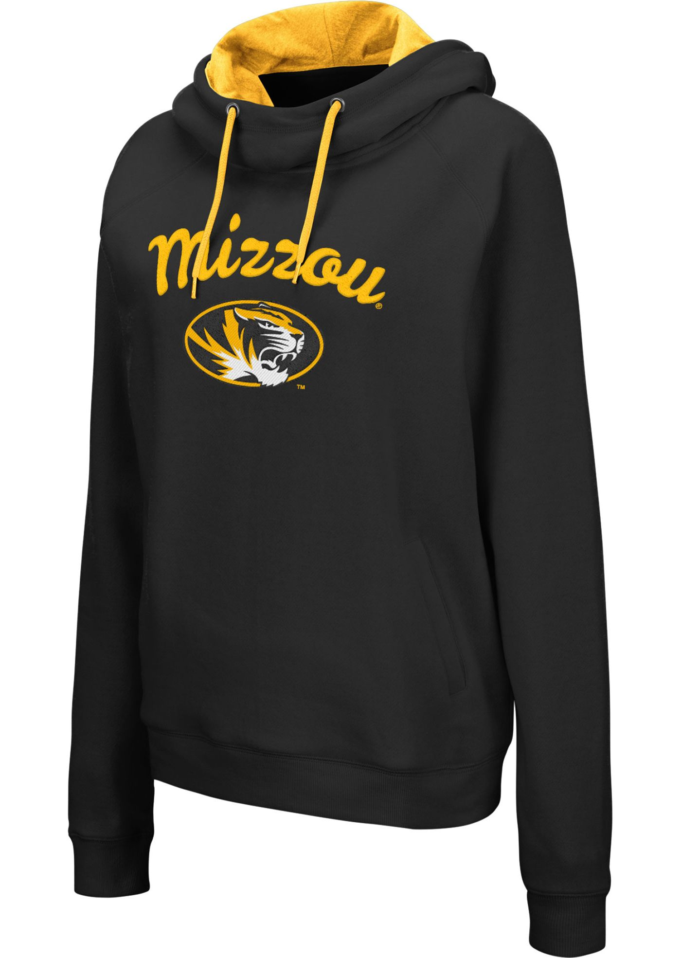 Colosseum Women's Missouri Tigers Louise Pullover Black Sweatshirt