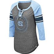 Colosseum Women's North Carolina Tar Heels Grey Carrie Long Sleeve T-Shirt