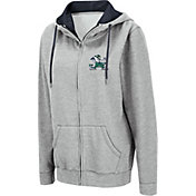 Colosseum Women's Notre Dame Fighting Irish Grey Full-Zip Hoodie