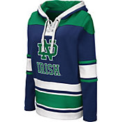Colosseum Women's Notre Dame Fighting Irish Navy Choo Hockey Pullover Hoodie