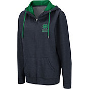 Colosseum Women's Notre Dame Fighting Irish Navy Full-Zip Hoodie