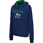 Colosseum Women's Notre Dame Fighting Irish Navy Louise Pullover Sweatshirt