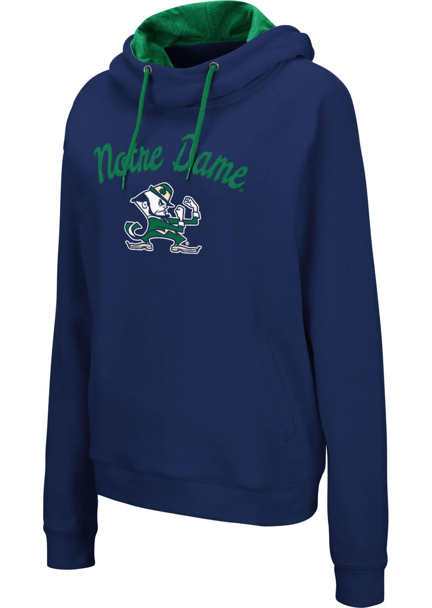 Colosseum Women's Notre Dame Fighting Irish Navy Louise Pullover Sweatshirt