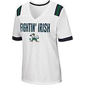 Colosseum Women's Notre Dame Fighting Irish Lowland White T-Shirt