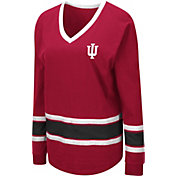 Colosseum Women's Indiana Hoosiers Crimson Alrighty Long Sleeve T-Shirt