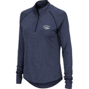 Colosseum Women's Nevada Wolf Pack Blue Quarter-Zip Shirt
